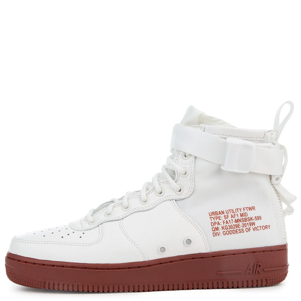 huge selection of f7926 c472c Sf Air Force 1 Mid IVORY/IVORY-MARS STONE