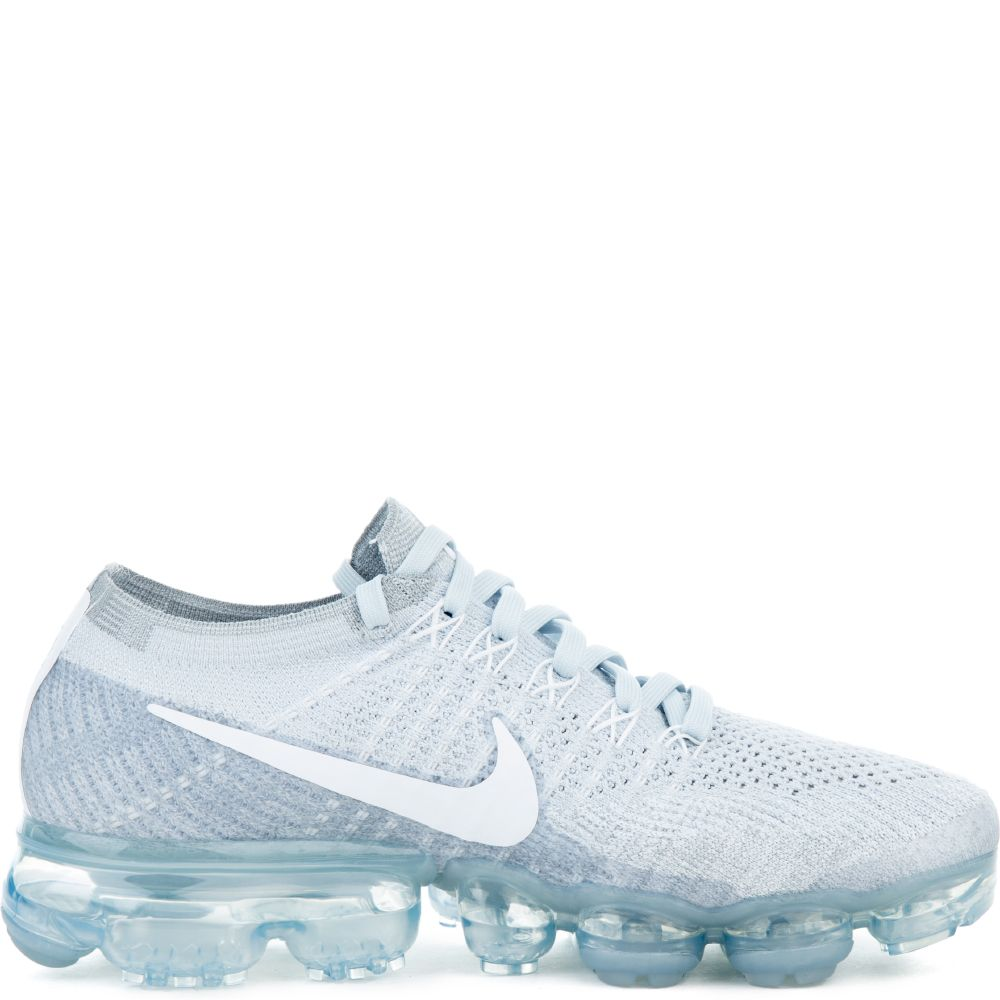 aad53eaa0c WMNS NIKE AIR VAPORMAX FLYKNIT PURE PLATINUM/WHITE-WOLF GREY