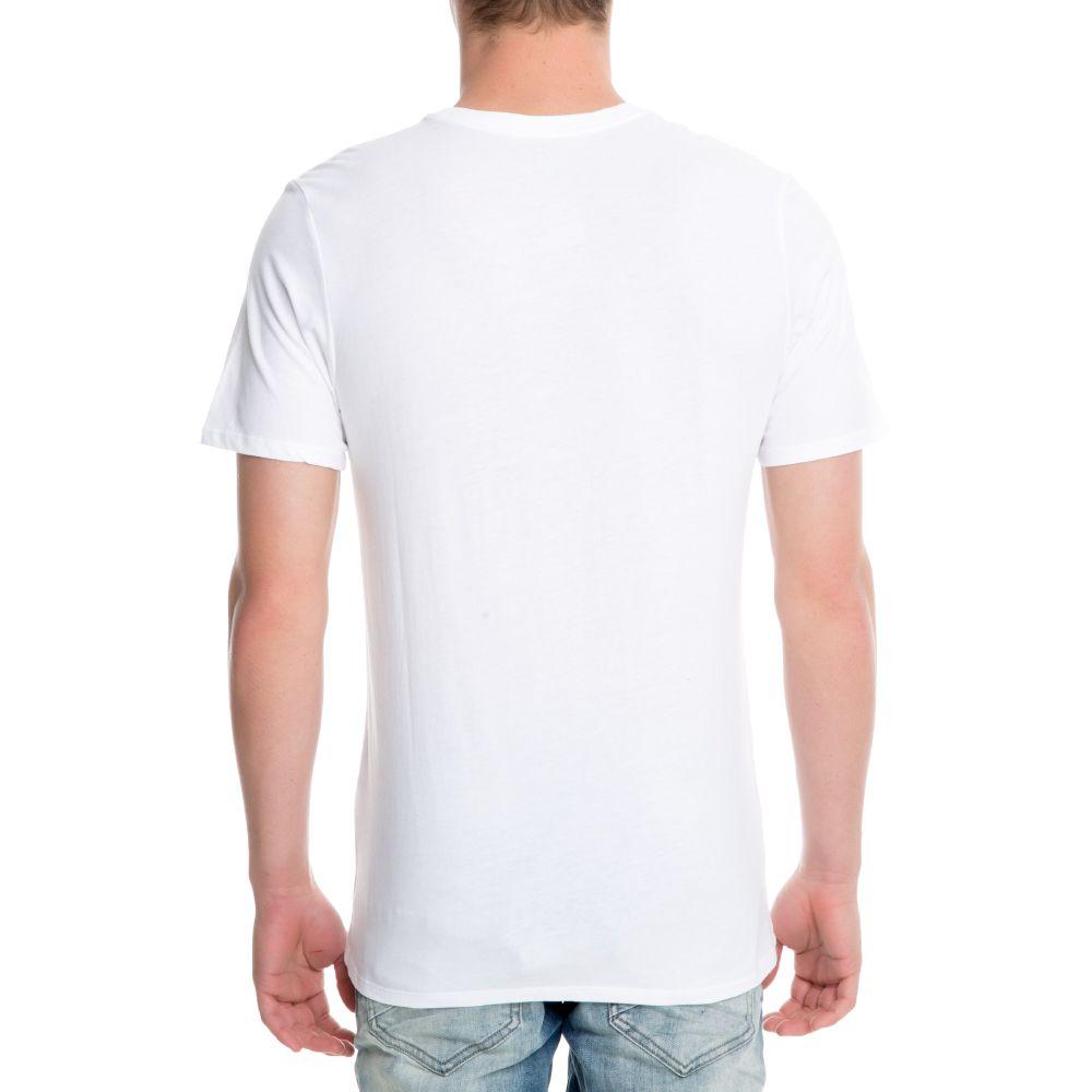 404c077bf M NSW TEE HUARACHE LOGO WHITE/WHITE/WHITE