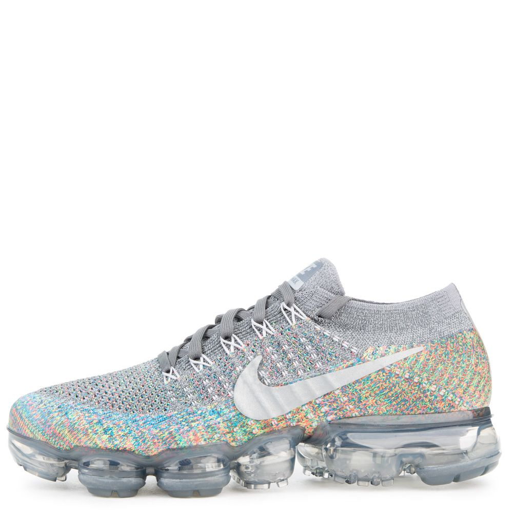 ffabe7d7d392 Air Vapormax Flyknit DARK GREY REFLECT SILVER BLUE ORBIT