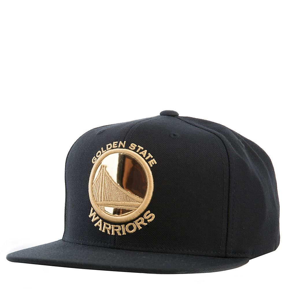 7321d53e6fa Golden State Warriors Snapback Gold Rush Collection BLACK