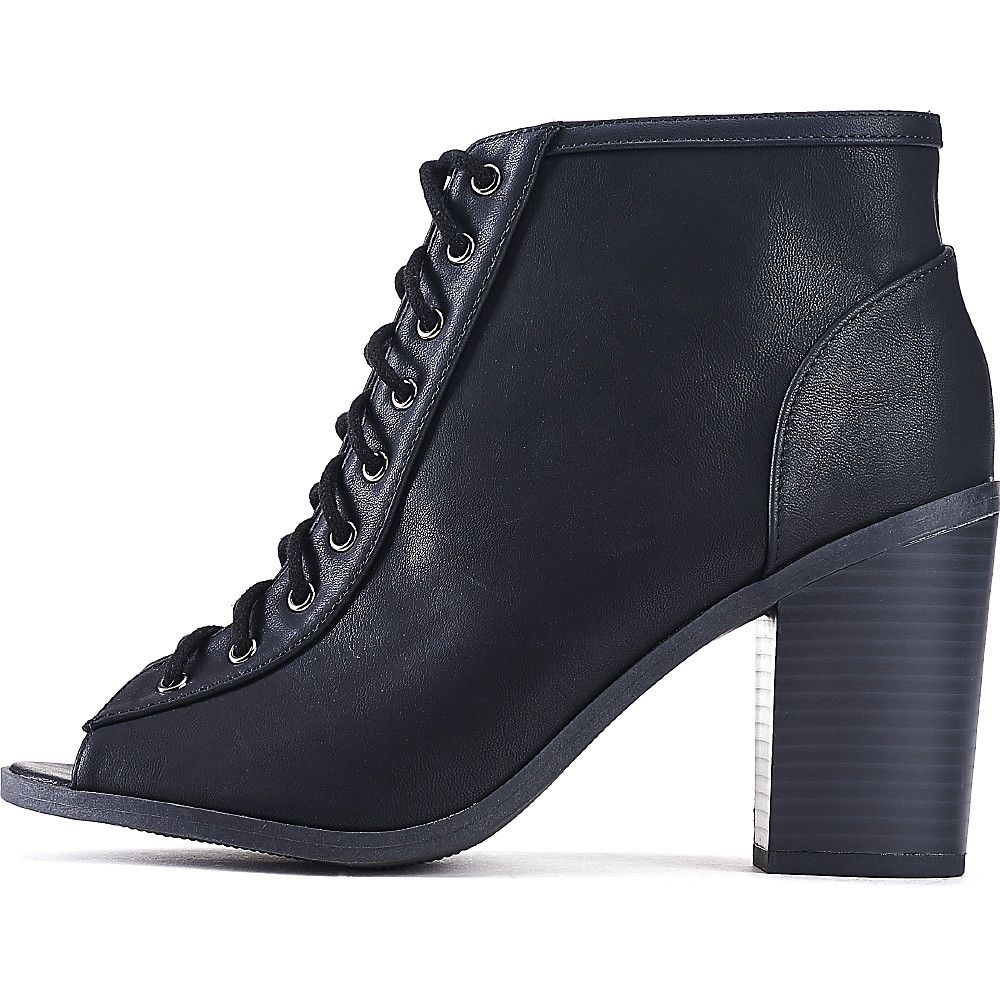 cb7572dcc1 Women's Audrina-S Lace-Up Ankle Boot Black