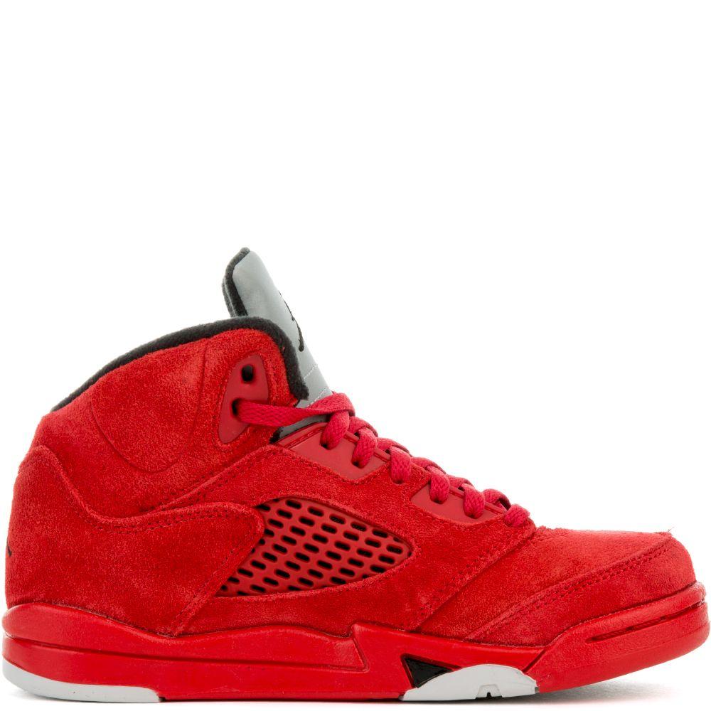 Jordan 5 Retro university red/black