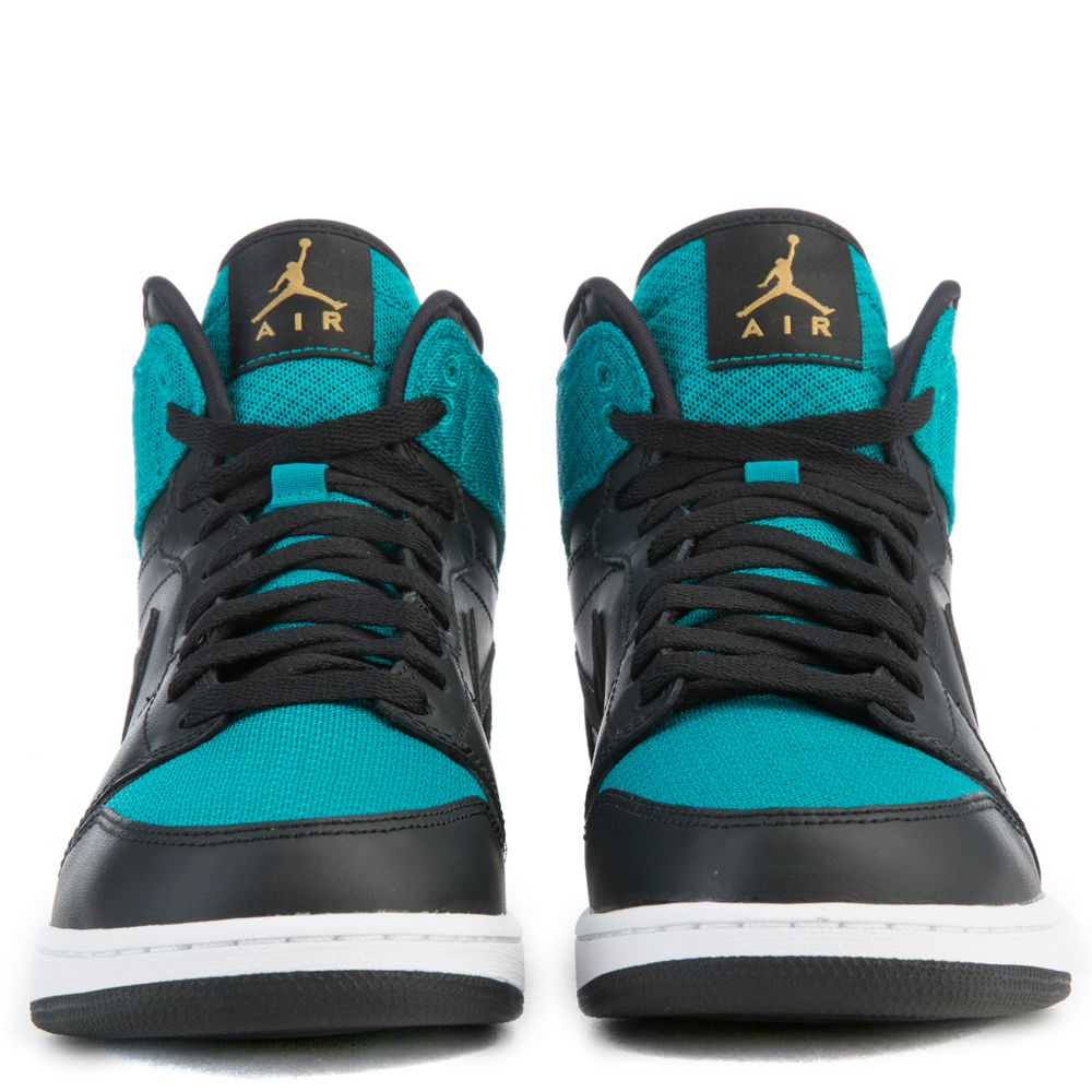 b47636c7739d AIR JORDAN 1 RETRO H Black Gold Teal White