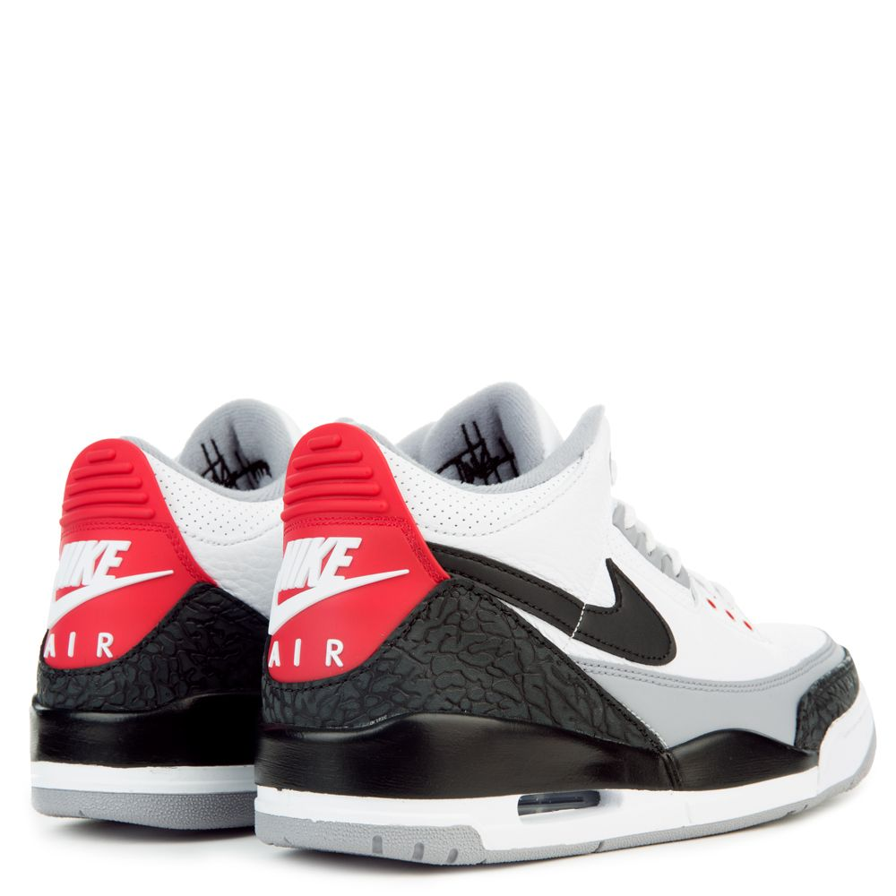18f5c8c3255a57 MEN S JORDAN 3 RETRO TINKER ENERGY WHITE BLACK FIRE RED CEMENT GREY