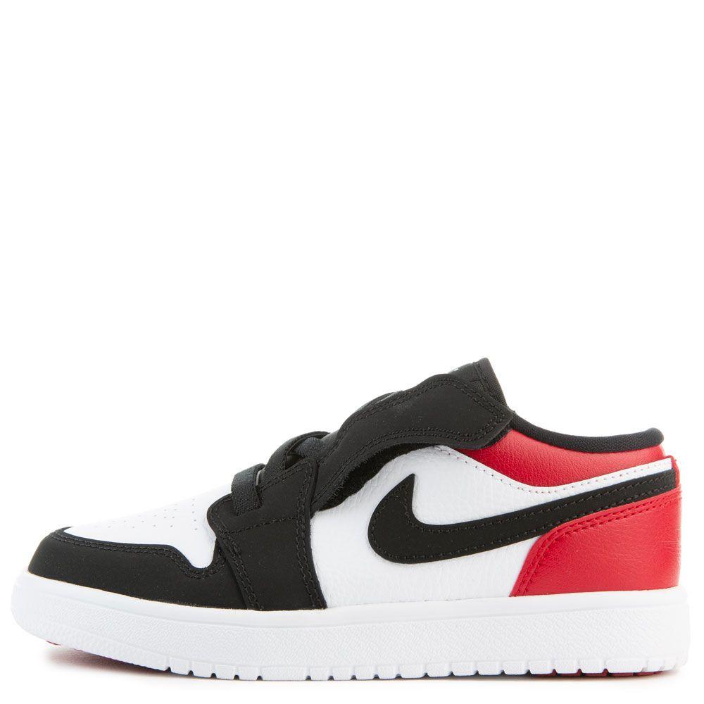 Ps Air Jordan 1 Low Alt White Black Gym Red