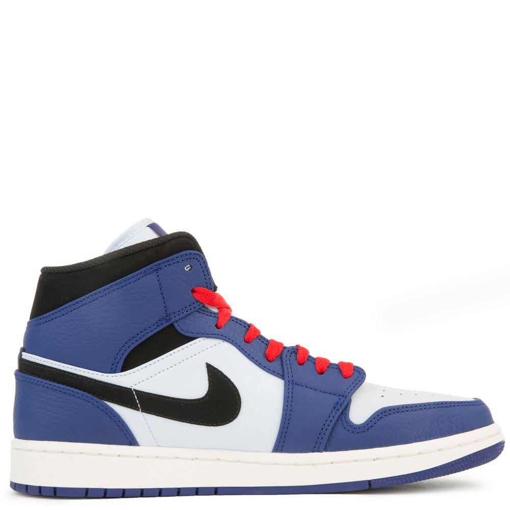 online store e321d 0a059 AIR JORDAN 1 MID SE DEEP ROYAL BLUE/BLACK-HALF BLUE