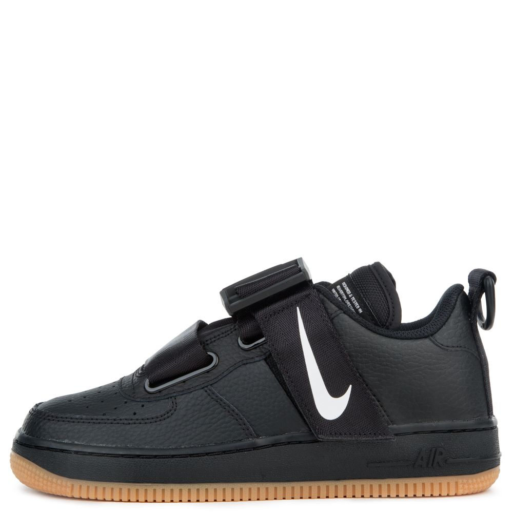 detailed pictures 12798 8bdfd (GS) AIR FORCE 1 UTILITY BLACK/WHITE-GUM MED BROWN