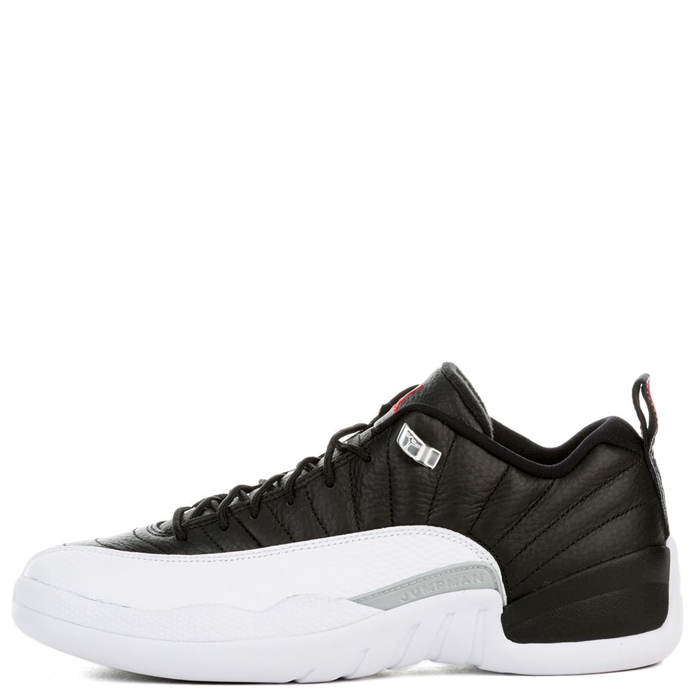 reputable site fd76f 98c80 AIR JORDAN 12 RETRO LOW BLACK/VARSITY RED-WHITE-METALLIC SILVER