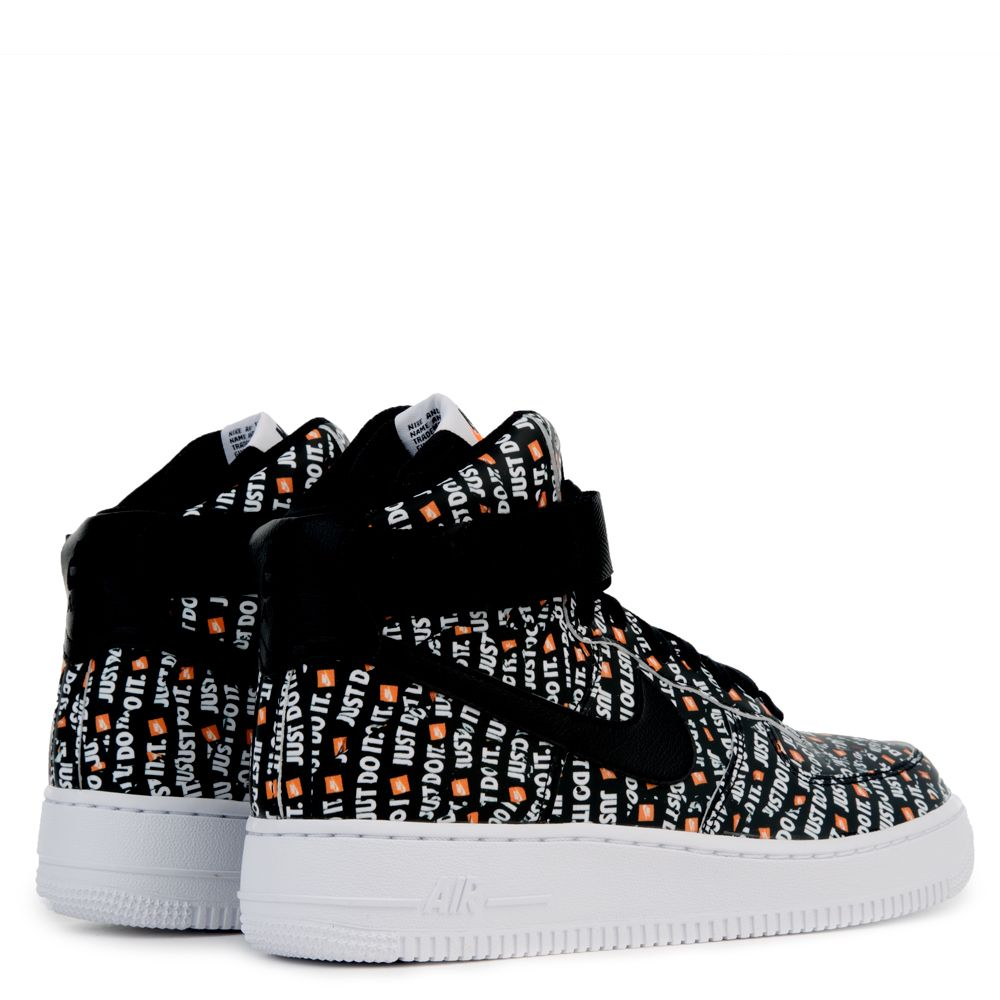 Sale Nike Air Force 1 High Lx Womens Wmns Black Just Do