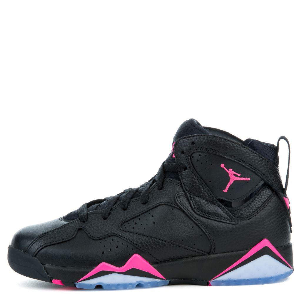 jordan 7 black and pink