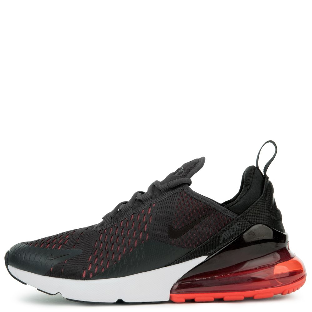 Nike Air Max 270 oil greyoil grey habanero red AH8050 023 Women's Men's Casual Shoes AH8050 023