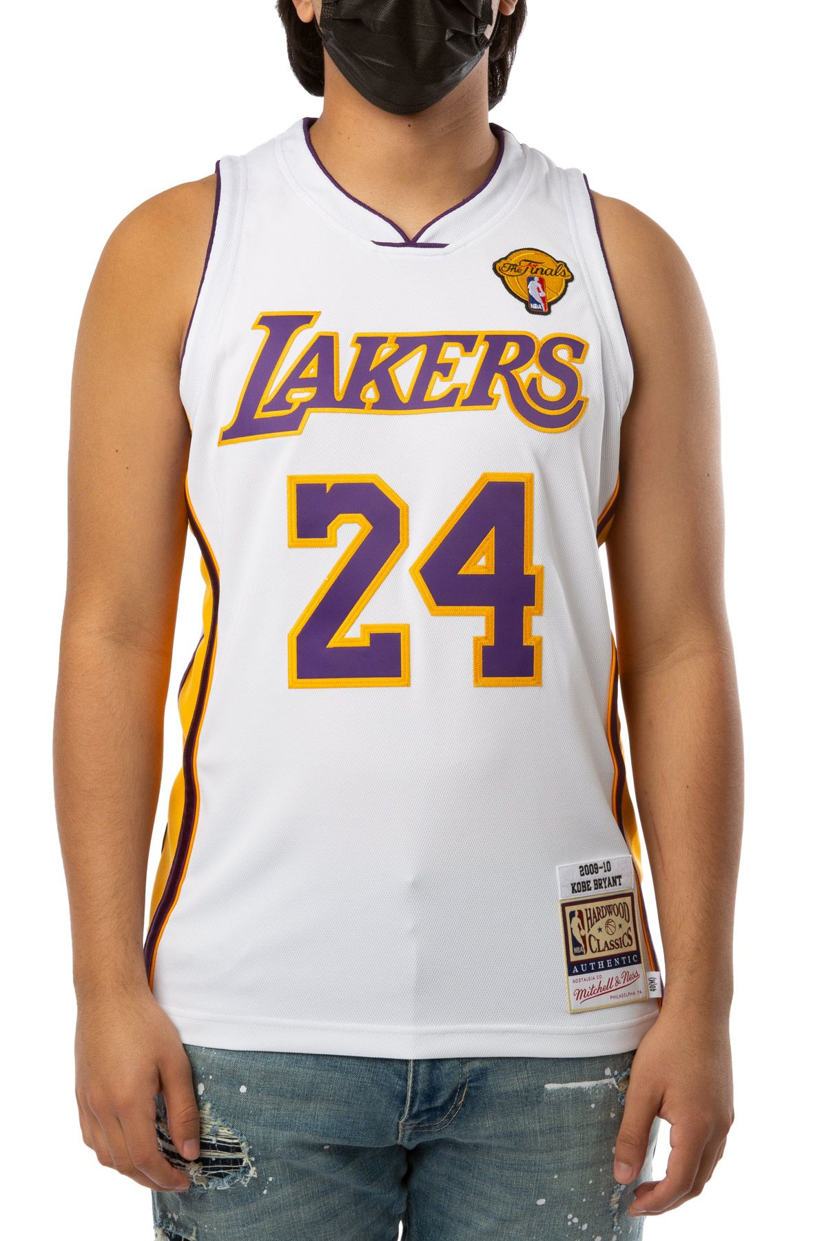 LOS ANGELES LAKERS KOBE BRYANT 2009-10 AUTHENTIC JERSEY