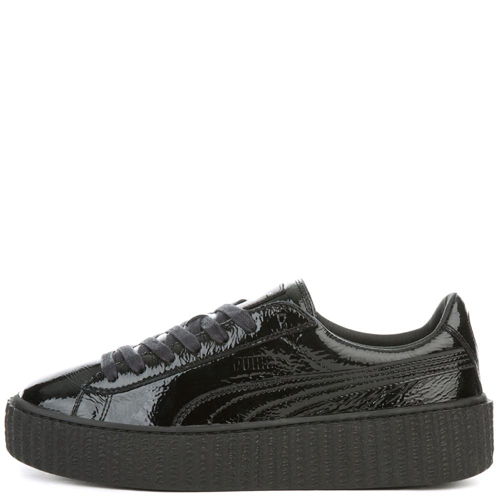 huge discount 87436 d2684 CREEPER WRINKLED PATENT PUMA BLACK-PUMA BLACK-PUMA BLACK