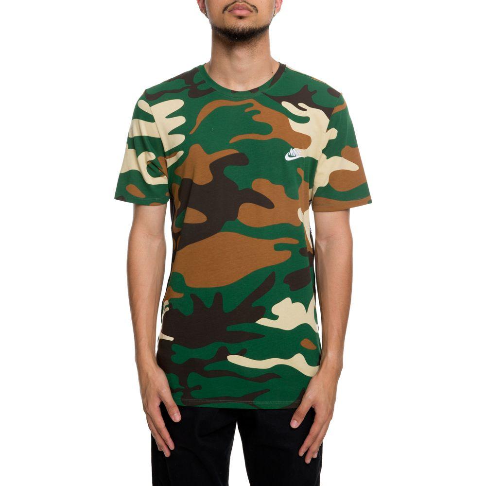 t shirt nike camouflage