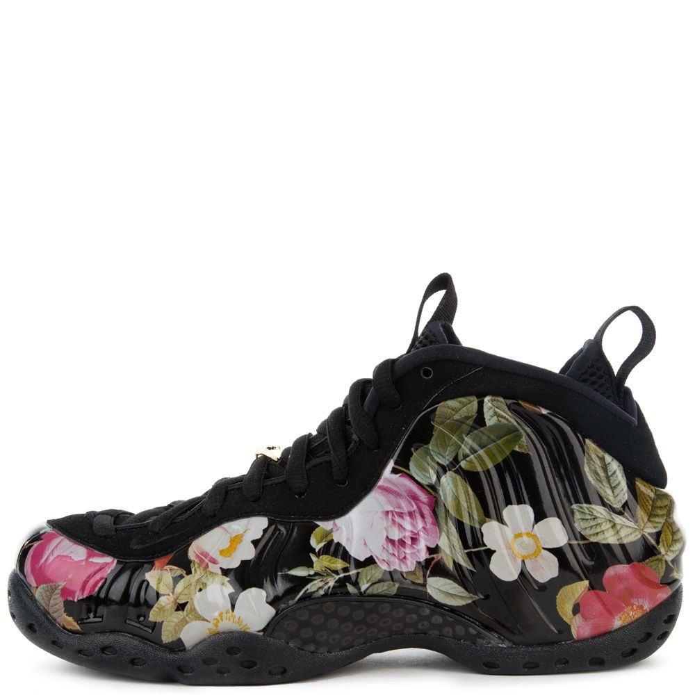 huge selection of dad93 0088a WOMEN'S AIR FOAMPOSITE BLACK/BLACK-METALLIC GOLD