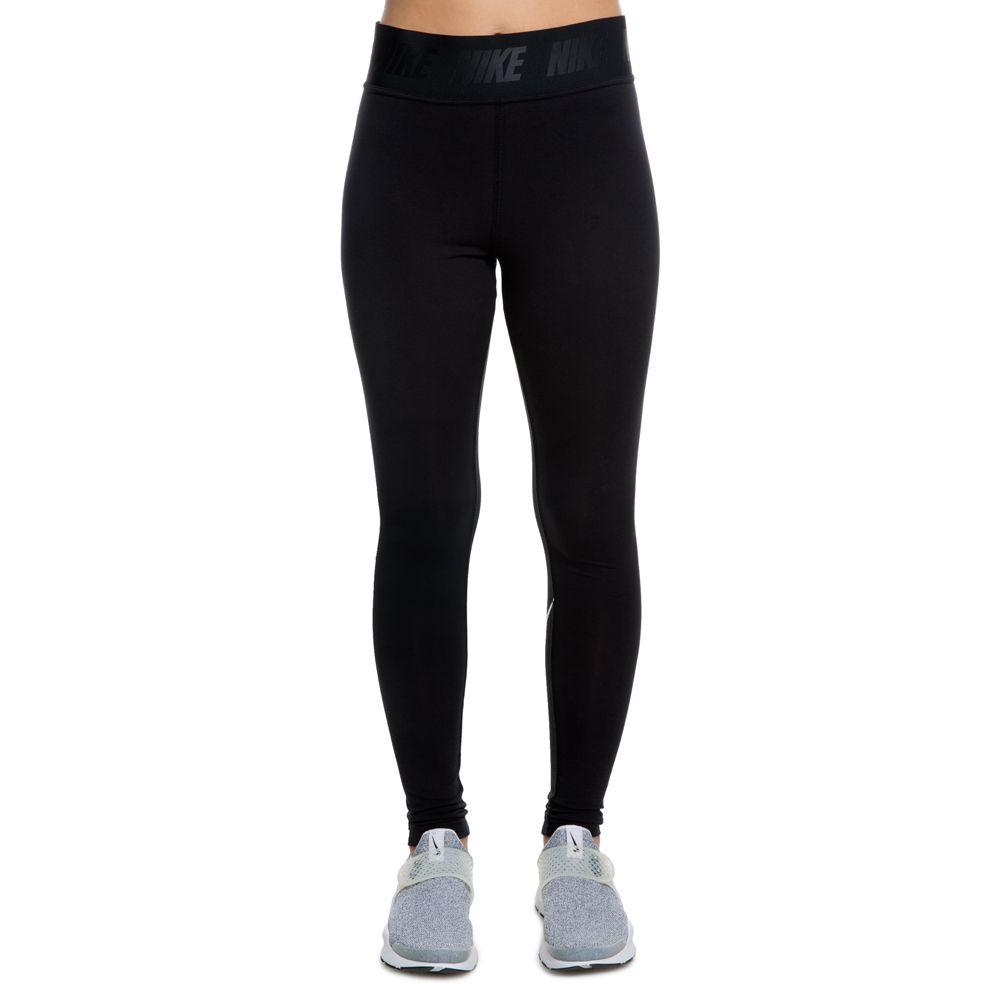 Damen Leggings NSW Legasee Black White