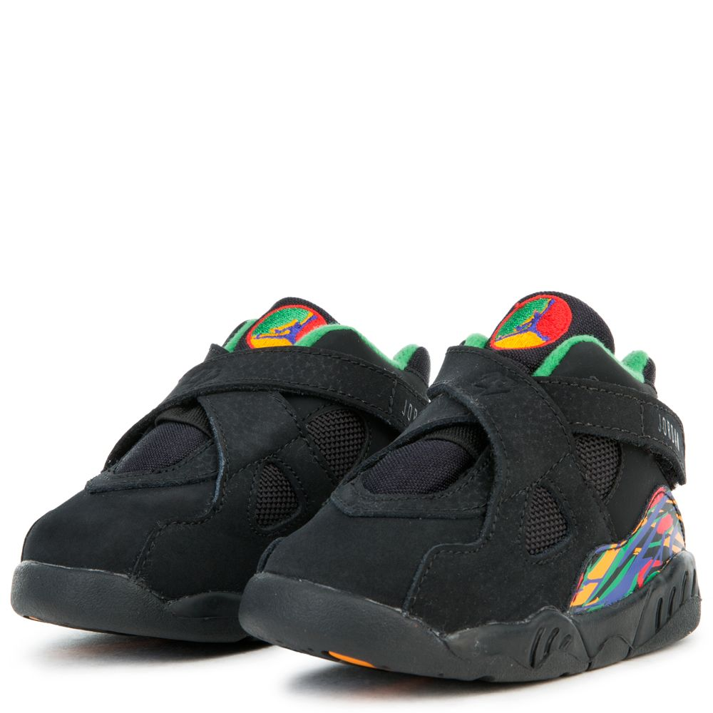 premium selection a9f68 db967 (TD) JORDAN 8 RETRO BLACK/LIGHT CONCORD-ALOE VERDE