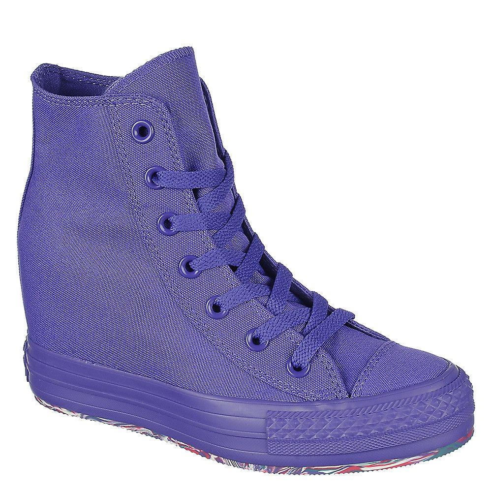 Converse Chuck Taylor Platform purple
