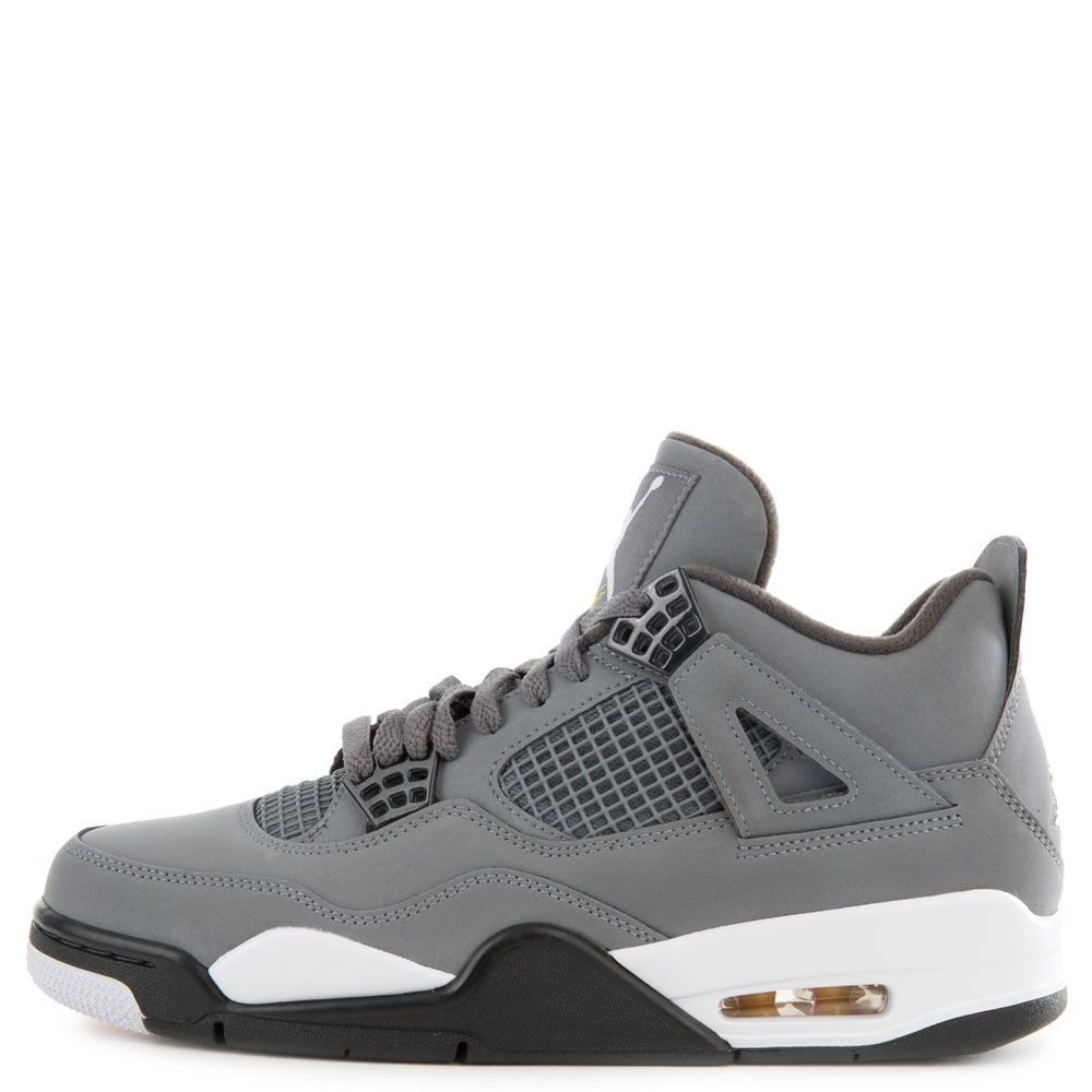 sale retailer cdbd2 90c69 Air Jordan 4 Retro Cool Grey/Chrome-Dark Charcoal