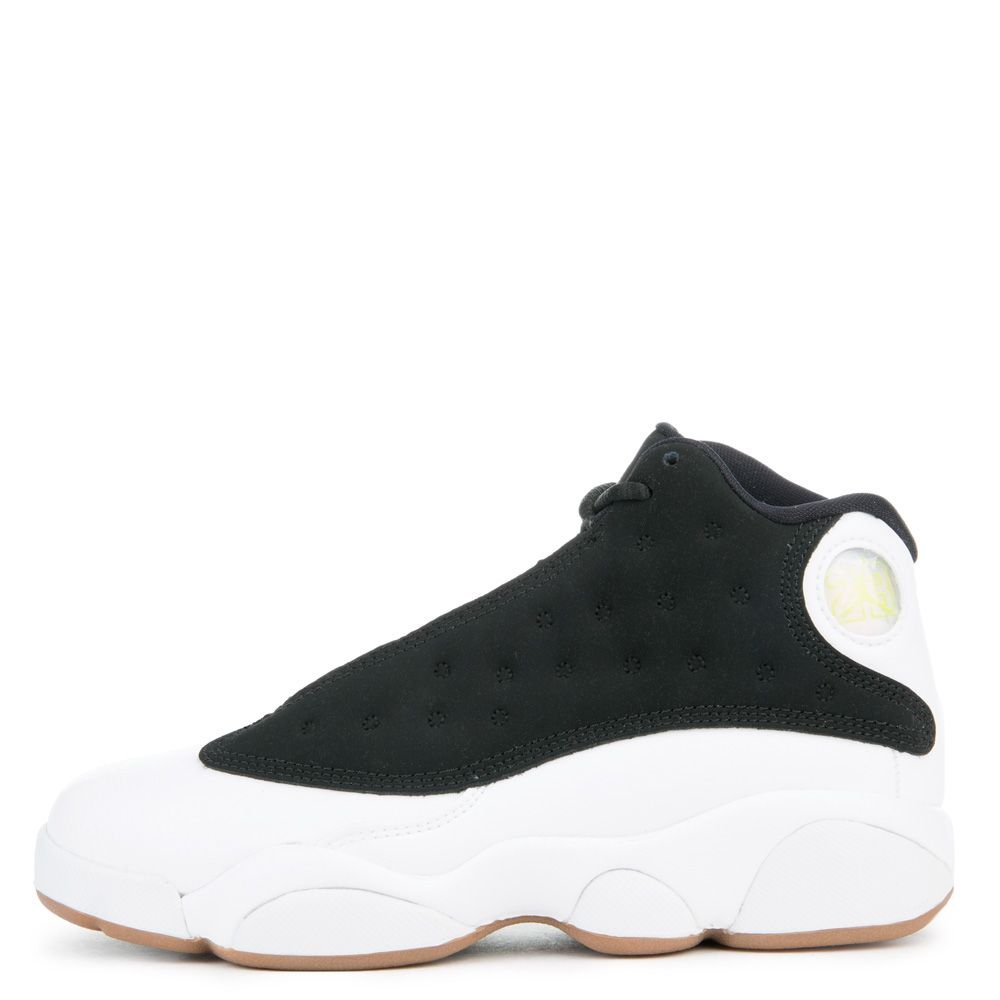 low priced cd73c ef0e6 Jordan 13 Retro BLACK/METALLIC GOLD/WHITE-GUM MED BROWN