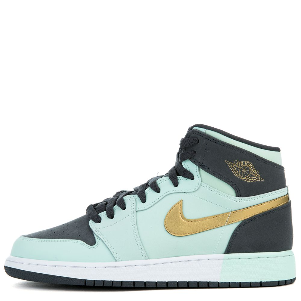 super popular 28079 030ca Air Jordan 1 Retro High MINT FOAM/METALLIC GOLD-ANTHRACITE-WHITE