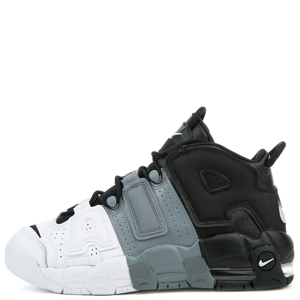 on wholesale more photos new concept NIKE AIR MORE UPTEMPO (GS) BLACK/BLACK-COOL GREY-WHITE