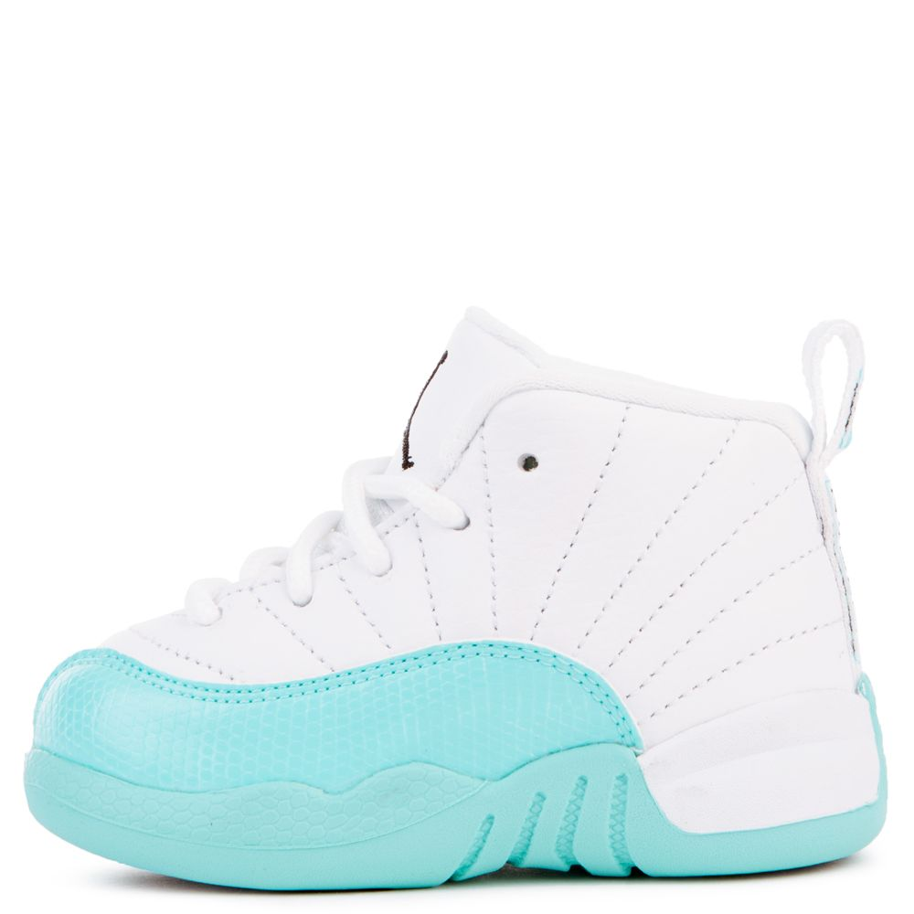 best sneakers 3372c ff727 JORDAN 12 RETRO (GT) WHITE/BLACK-LIGHT AQUA