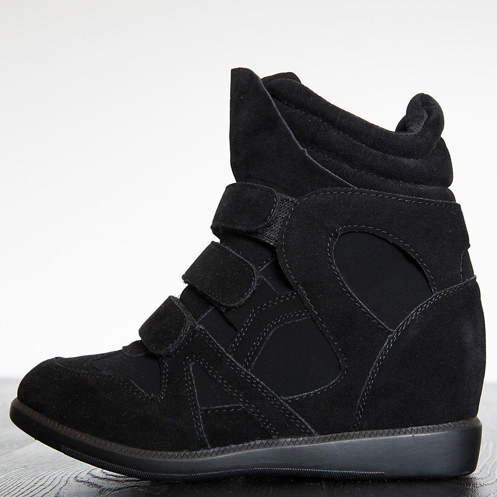 Women's Overland Wedge Sneaker Black