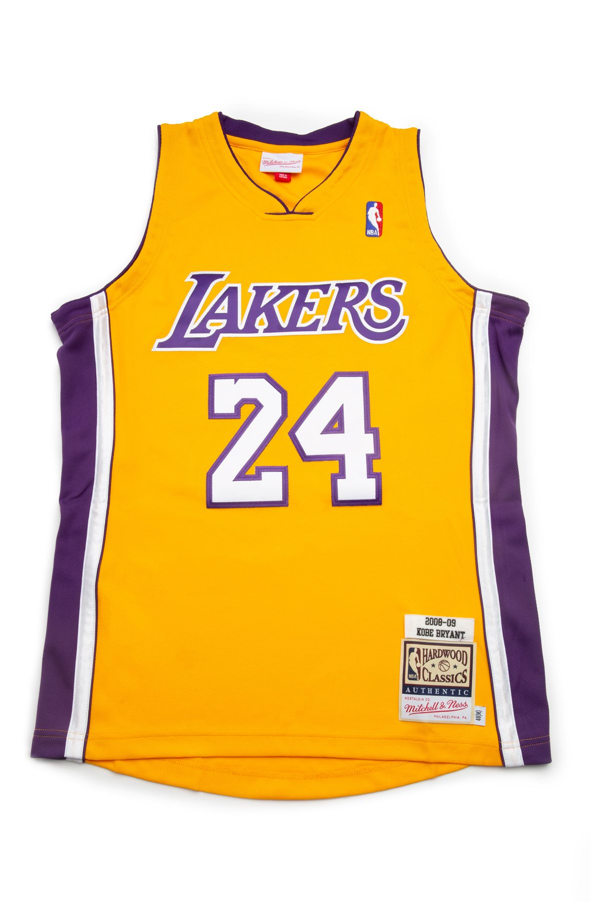 Los Angeles Lakers Kobe Bryant 2008 09 Authentic Jersey Light Gold