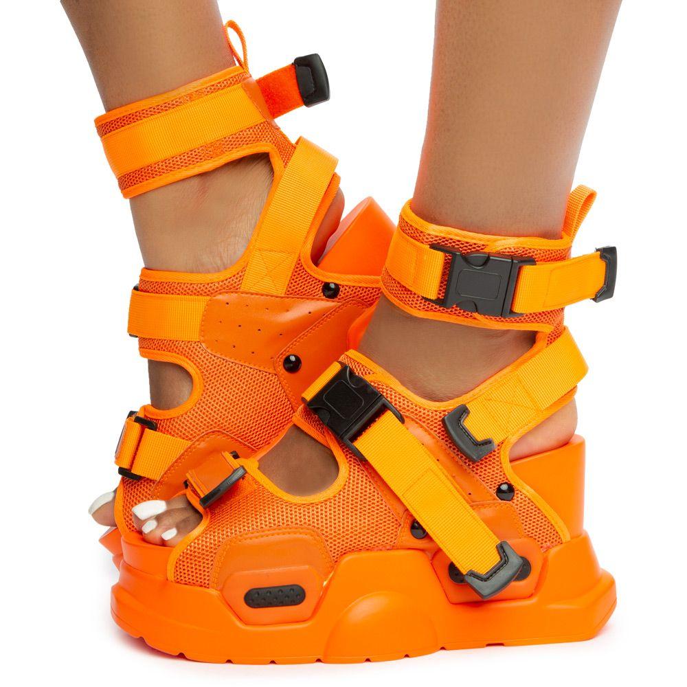 Mulberry-01 Platform Sandals