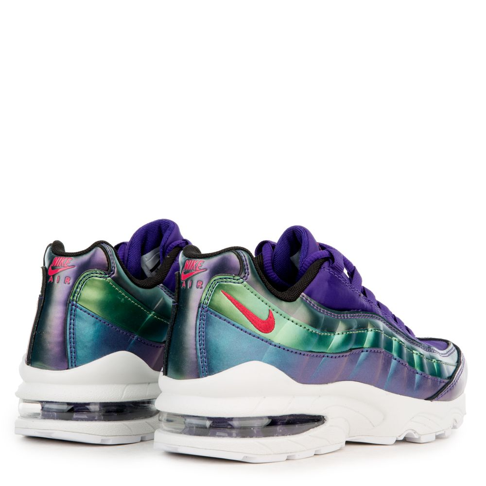 the latest 436c1 22843 GS) AIR MAX 95 SE COURT PURPLE/RUSH PINK-NEPTUNE GREEN