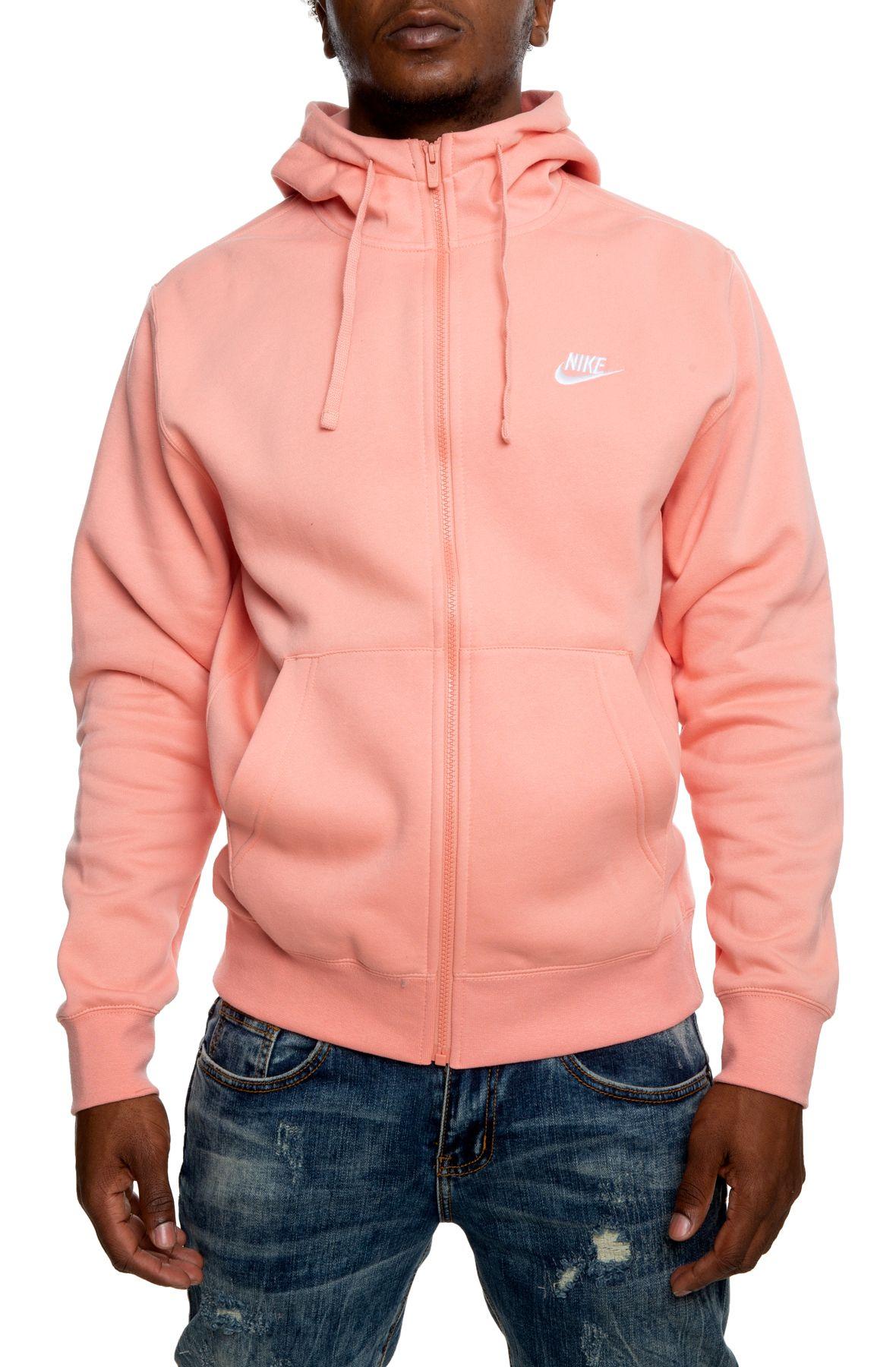 nike fleece zip up hoodie