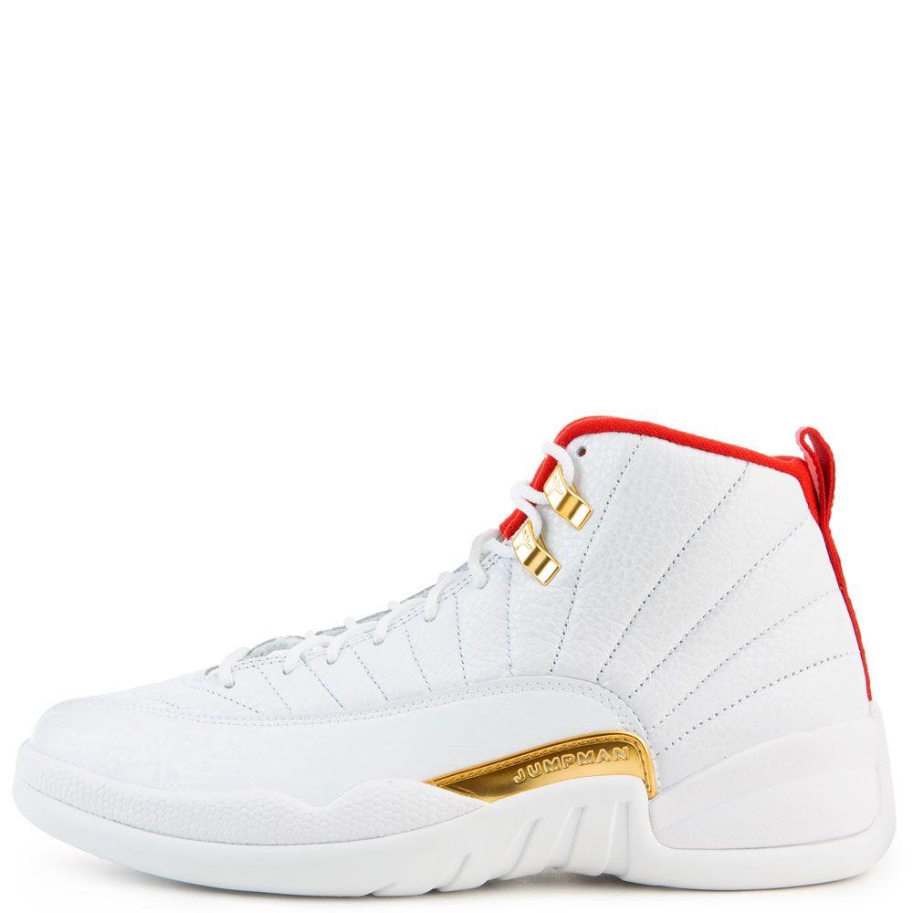 separation shoes bb3e7 a0bf5 Air Jordan 12 Retro White/University Red-Metallic Gold