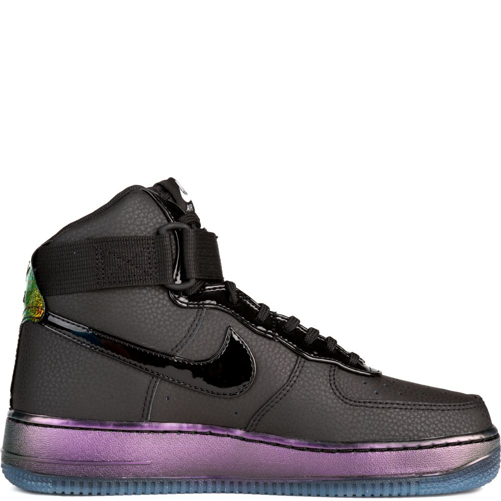 Air Force 1 Hi Premium Black Purple Gold Red