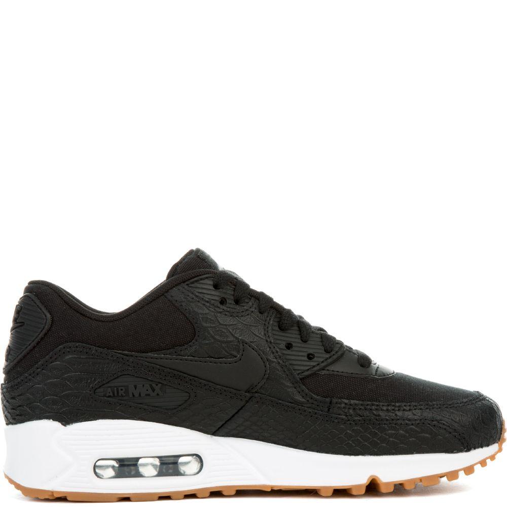 Details about Nike Air Max 90 Premium 896497 002 BlackBlack Gum White Wmn Sz 7