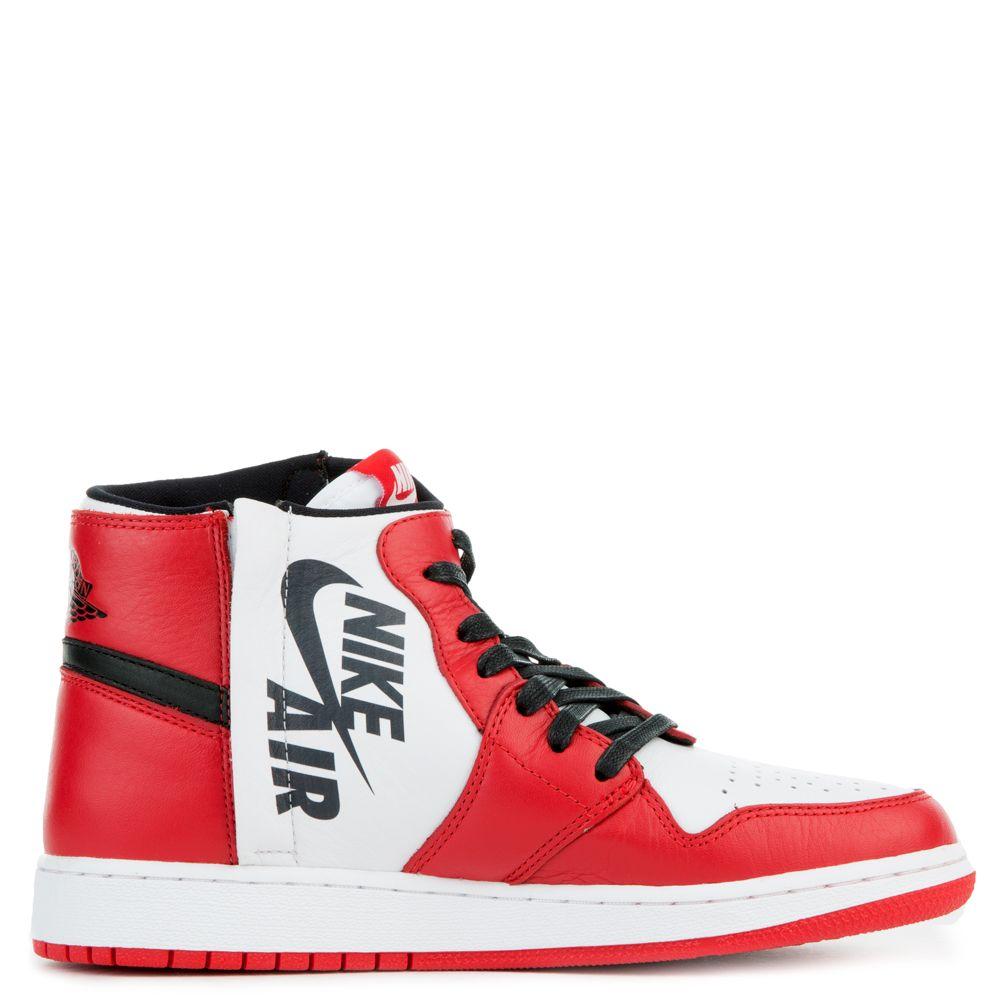 2018 Womens Nike Air Jordan 1 REBEL XX OG TOP 3 White Red
