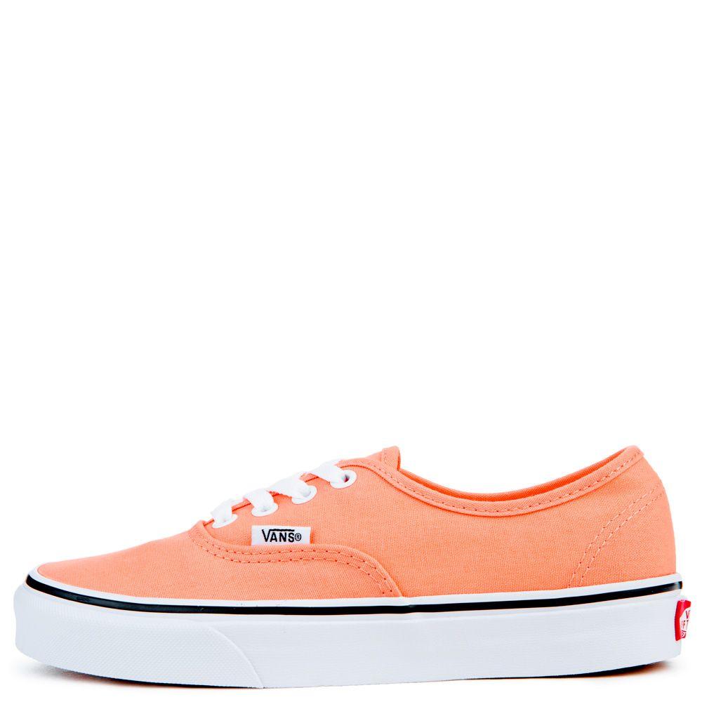 peach colored vans