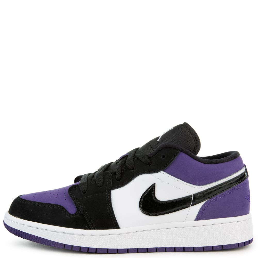 air jordan 1 low court purple gs