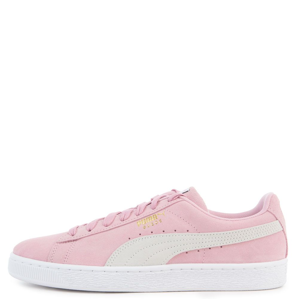 finest selection 3f063 aeef5 MEN'S SUEDE CLASSIC PALE PINK/PUMA WHITE