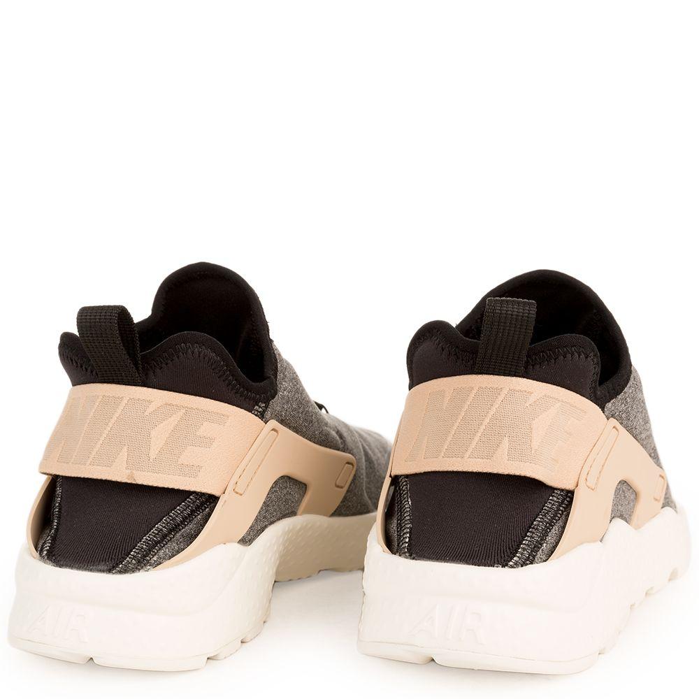 Air Huarache Run Black Tan White