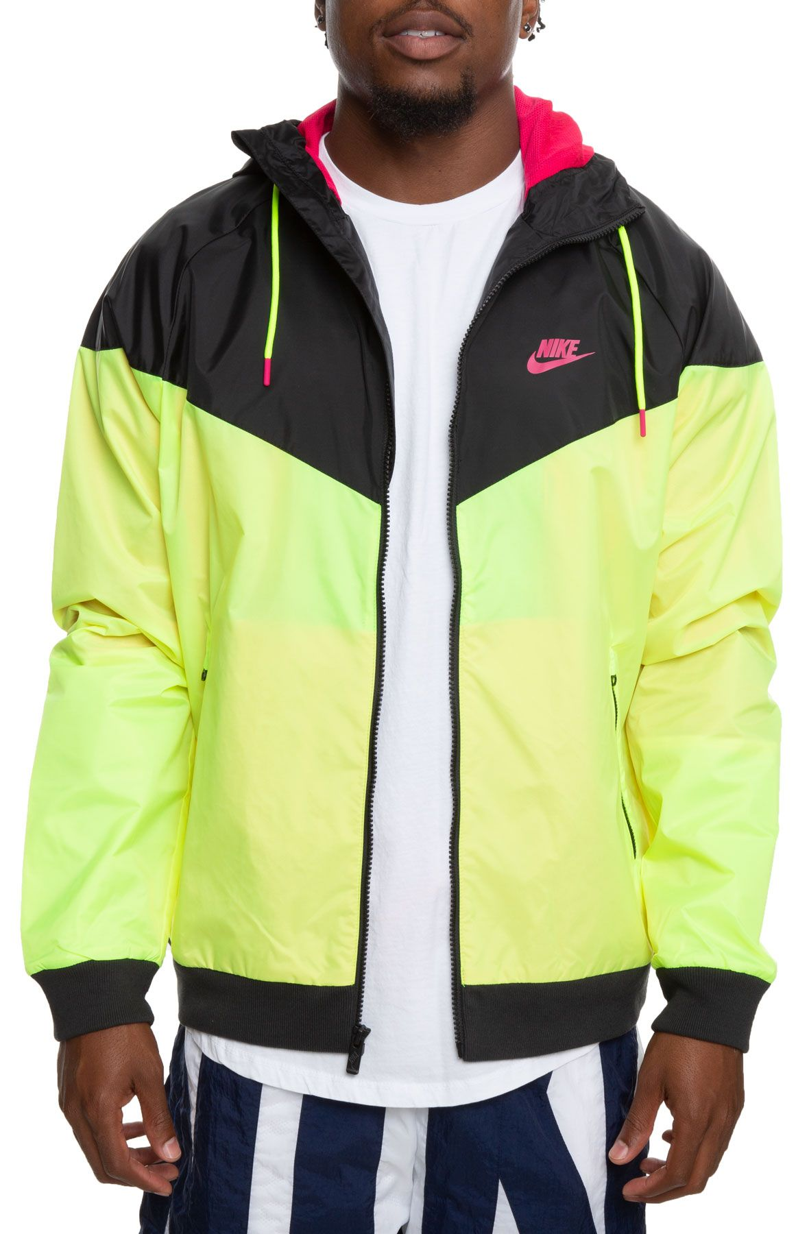 Nike Sportswear Windrunner Jacket, AnthraciteBarely Volt, Large