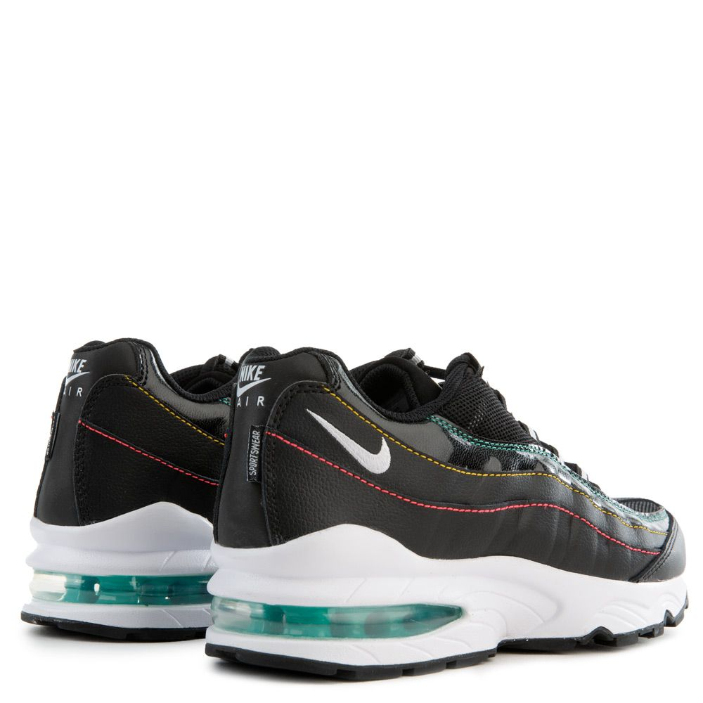 Nike Men's Air Max 1 SE (Black | Kinetic Green | Psychic Purple | Flash Crimson)