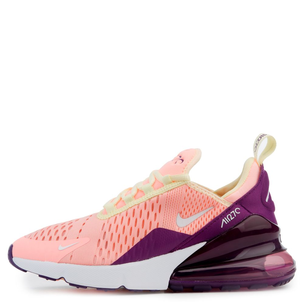 best sneakers f5ec6 c96a8 NIKE AIR MAX 270 (GS) PINK TINT/WHITE-NIGHT PURPLE