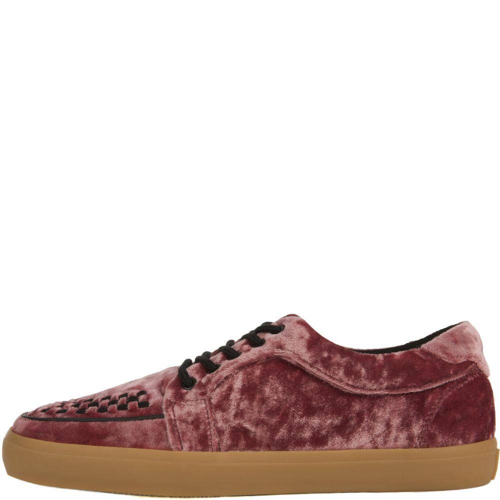 Rose Pink Velvet VLK Sneakers ROSE PINK