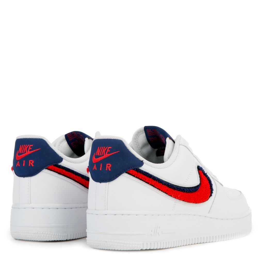 top Nike Air Force 1 ´07 LV8 White University Red Blue Void