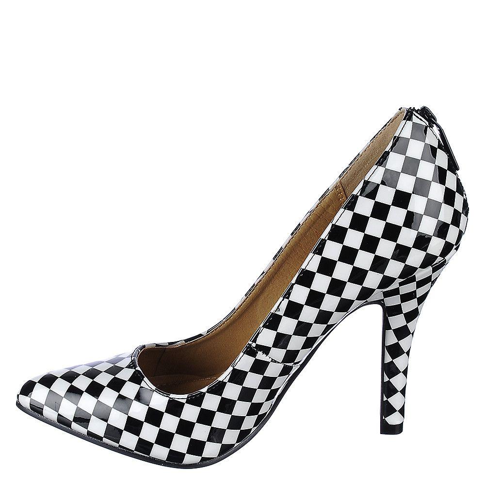 High Heel Pump Mellina Checkered Black