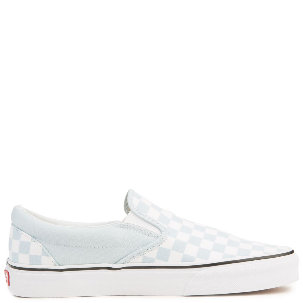 light grey checkered vans