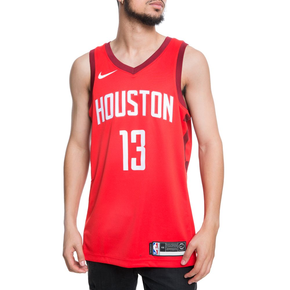 buy online 1ffc7 2980a HOUSTON ROCKETS JAMES HARDEN EARNED EDITION SWINGMAN JERSEY