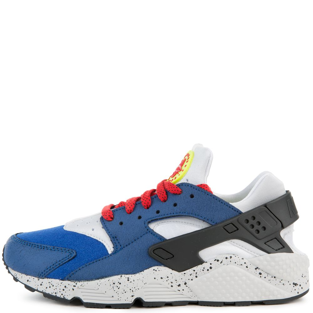 nike huarache red white and blue